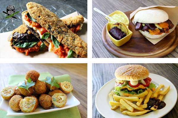 collage foto ricette street food