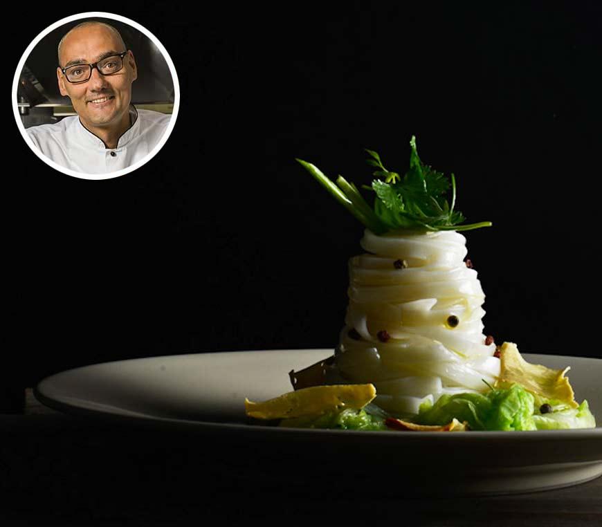 Master di alta cucina vegetale con Simone Salvini  (Gennaio/Marzo 2021)