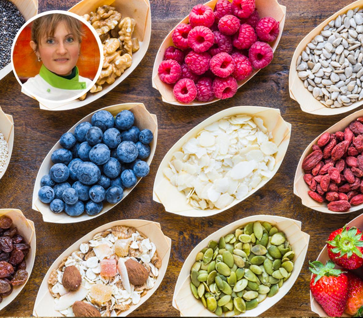Corso di cucina vegana – Giugno 2019 – Cucinare con i SUPERFOOD