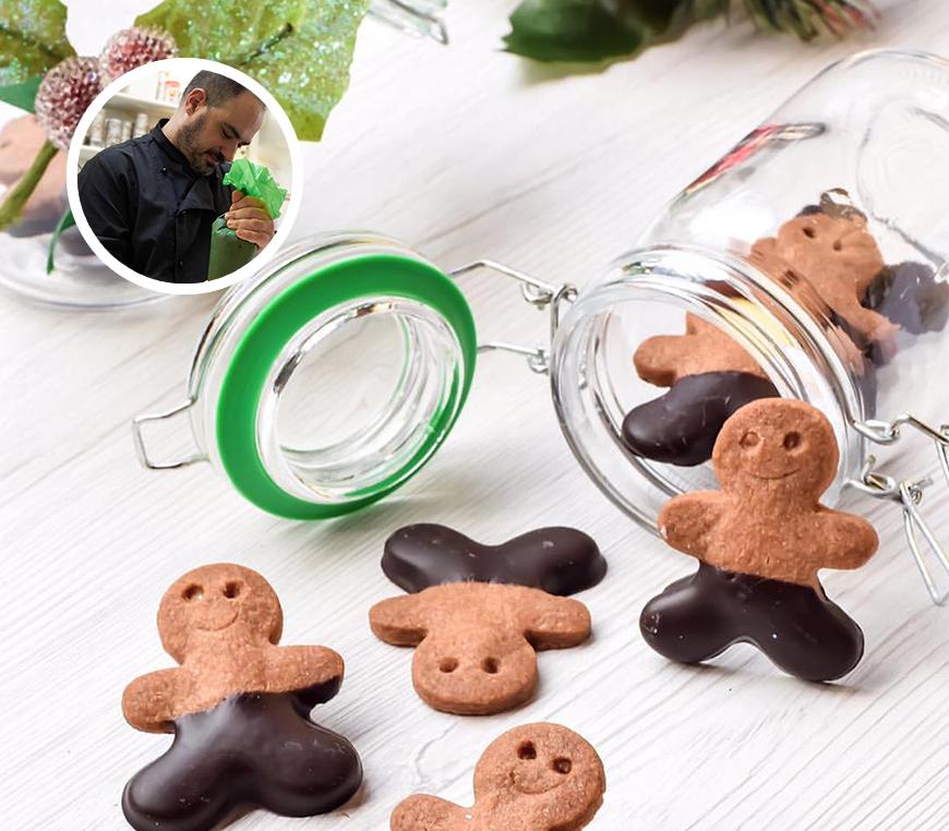 Dicembre 2017 – Dolci di Natale (muffin e biscotti) con Stefano Broccoli
