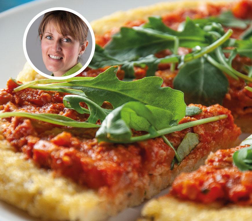 FunnyVeg Academy - Giulia Giunta - Pizza di miglio